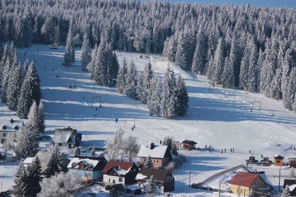 Skiareál Velflink