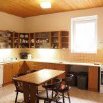 Kuchyň v chatě Javorka